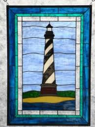 stained glass lighthouse cape hatteras
