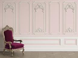 3d Classic Interior Wall With Cornice And Moldings Mural Etsy Classic Interior Wall Molding Wall Murals
