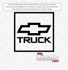 Car Decals Car Stickers Chevy Truck Car Decal Anydecals Com