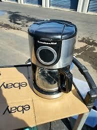 glass carafe onyx black coffee maker
