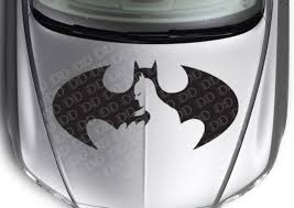 Auto Parts Accessories Large Dark Batman Strike Logo Superhero Comic Car Hood Body Vinyl Sticker Decal Auto Parts And Vehicles Moonnepal Com