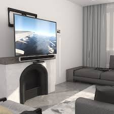 pull down tv mount wall mount