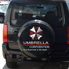 Car Truck Graphics Decals 1x Umbrella Corporation Decal Pet Car Sticker Auto Doors Scratch Waist Line Well Motors
