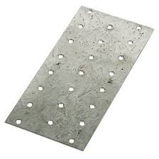 Sabrefix Hand Nail Plate Galvanised Dx275 150mm X 75mm 25 Pack Structural Fixings Screwfix Com