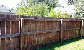 Fence Washing And Staining Fence Makeover Groupon