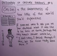 Dictionary of obscure sorrows doodled ...