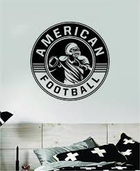 American Football Wall Decal Sticker Vinyl Art Bedroom Room Home Decor Boop Decals