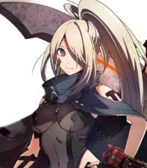 player female voice god eater video game behind the