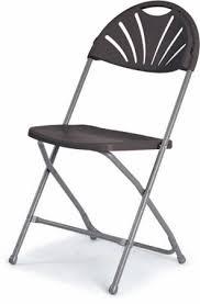 fan back flat folding chair foldaway