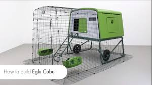 New Eglu Cube Instructions How To Assemble Your New Eglu Cube Chicken Coop Youtube