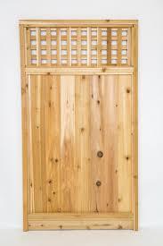 5 10 X 3 3 Cedar Square Lattice Top Gate At Menards