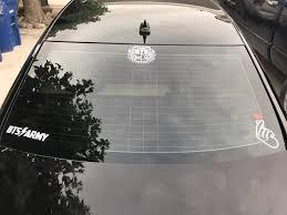 Bts Kpop Car Decal Army S Amino