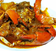Crab Curry ...