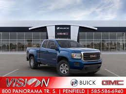 new gmc canyon vehicles in
