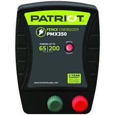 Patriot Pmx 350 Fence Charger 110v 3 5j