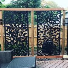 100 Privacy Screens And Fences Ideas In 2020 Backyard Backyard Privacy Garden Design