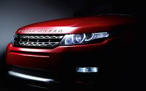 hd wallpaper rover evoque headlights