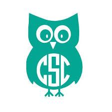 Owl Monogram Decal Monogram Car Decal Monogram By Cscmonograms Monogram Wall Decals Car Monogram Decal Monogram Decal