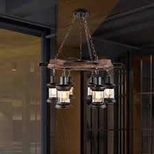 satin black lantern pendant lamps