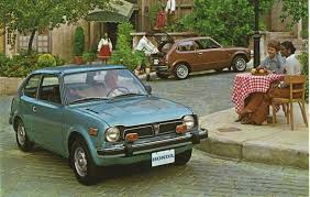 clic 1975 honda civic brochures are