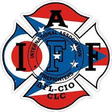 Ohio Iaff International Association Firefighters Vinyl Sticker At Sticker Shoppe