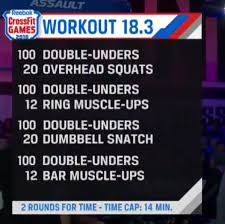 crossfit open workout 18 3 scaling tips
