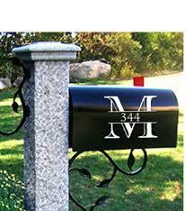Mailbox Decal Mailbox Makeover Diy Mailbox Mailbox Decor