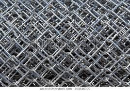 Rolls Chain Link Fence Material Ready Stock Photo Edit Now 464546300