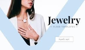 jewelry flyer templates jewelry