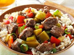 sweet and sour beef recipe taste of home