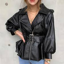 2020 korean vintage faux leather las