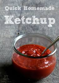 quick homemade ketchup recipe