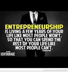 entrepreneurship and sacrifice go hand in hand business