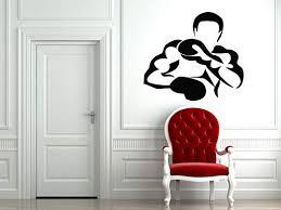 Amazon Com N Sunforest Sport Movie Mma Fighter Boxer Wall Decals Vinyl Sticker Home Art Decal Bedroom Decor Home Kitchen
