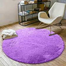 Yoh Soft Round Fluffy Area Rugs Circle Rug For Bedroom Kids Room Living Room Playroom Boys