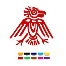 Aztec Ancient Symbol Car Truck Bumper Window Jdm Fun 6 Vinyl Decal Sticker Business Industrial Other Printing Graphic Arts Fundacion Traki Com