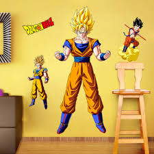 Dragon Ball Wall Decals Shop For High Quality Dragon Ball Wall Decals Free Worldwide Shipping