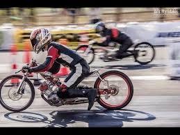 drag racing two stroke 155cc sepeda