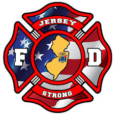 Jersey Strong Firefighter Window Decal Police Fire Ems Viny Graphics Stickers Decals Dkedecals