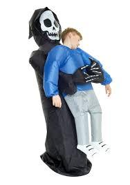 grim reaper pick me up child costume