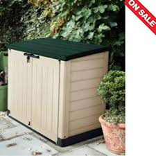 plastic garden shed small storage rack