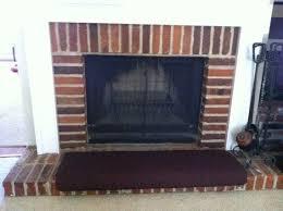 fireplace hearth seat cushion