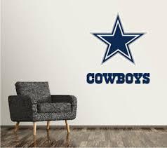 Dallas Cowboys Wall Decal Logo Football Nfl Art Sticker Vinyl Large Sr93 Ebay