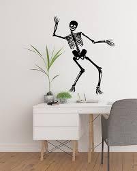Skeleton Wall Decal Halloween Decoration Anatomy Teacher Etsy