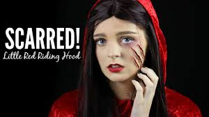 dark little red riding hood makeup