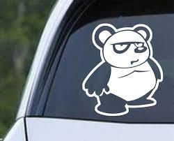 Panda Bear Cartoon A Die Cut Vinyl Decal Sticker Decals City