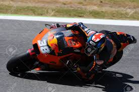 Mugello - ITALY, JUNE 3: British KTM MotoGP Rider Bradley Smith ...