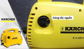 Máy xịt rửa xe gia đình KARCHER K2 Basic oj của Đức