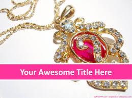 free jewellery powerpoint templates