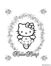 Hello Kitty Kleurplaat 512878 Kleurplaat
